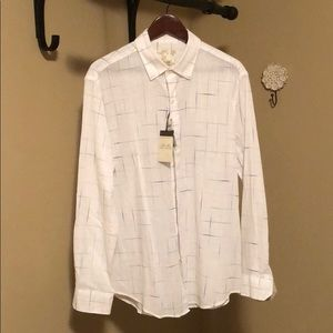New Tasso Elba Island casual button down shirt
